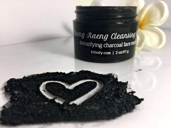 Kaeng Raeng's Detoxifying Charcoal Face Mask.