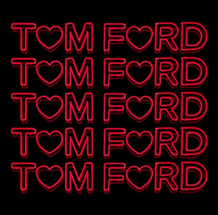 from ℹ︎nstagram TOM FORD T♡M F♡ORD