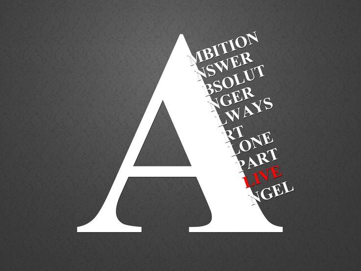 Created using Photoshop #Typography