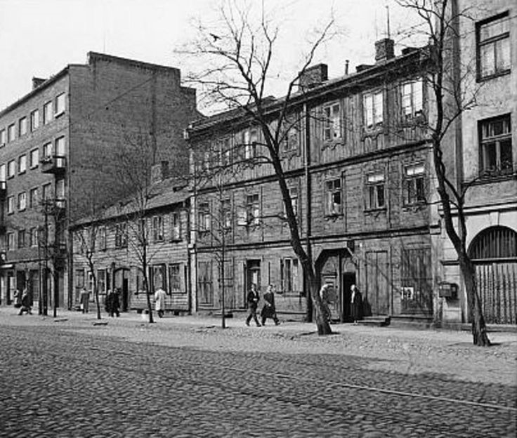 Warszawa - ulica Stalowa (1957)