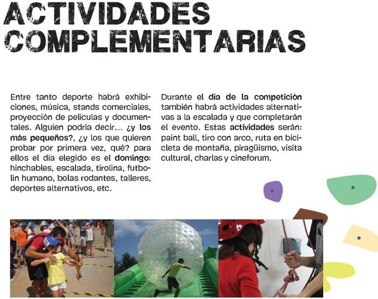 Durante la competición se podrá disfrutar de todo tipo de actividades. http://www.bierzonatura.es