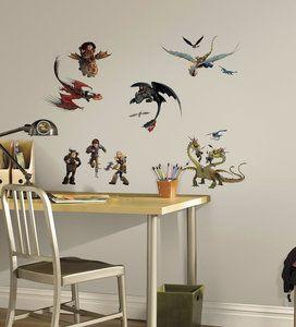 Hoe Tem je een Draak 31 delig wanddecoratie muurstickers set. Maak van de kinderkamer in een hand omdraai een coole kamer met deze coole zelfklevende en herplaatsbare stickers met alle hoofdfiguren...