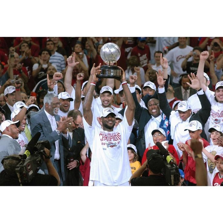 10 years ago today the Cavs eliminated the Pistons in Game 6 to reach their first NBA Finals. #dhtk #repre23nt #donthatetheking
