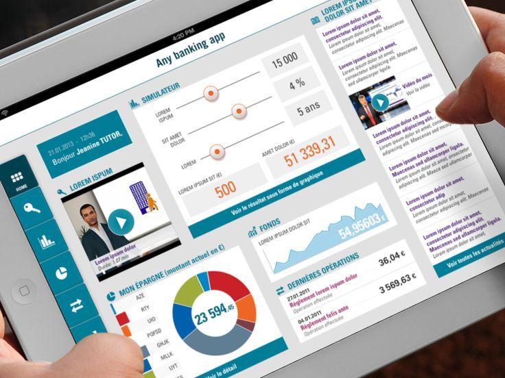 Banking App Concept | #design #app #mobile #ui #ux #tablet