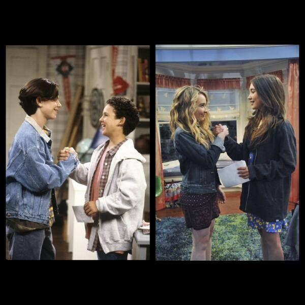 Best Friends #BoyMeetsWorld (Cory and Shawn) #GirlMeetsWorld (Riley and Maya)