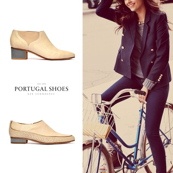 """Expressing in a Classic-Minimal language with """"Rock n' Roll nuances"""", Marta Mestre focuses on creating a shoe that allows a comfortable pedaling without compromising personal style: http://bit.ly/20U7fro"""