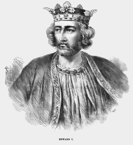 Edward I, King of England, husband of Eleanor of Castile Queen Consort. My g-g-g, etc. grandfather.