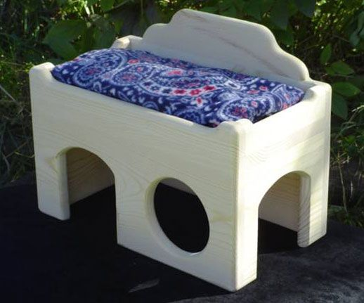 pampered chinchilla bed!