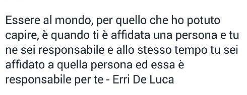 #citazioni #frasilibri Erri De Luca
