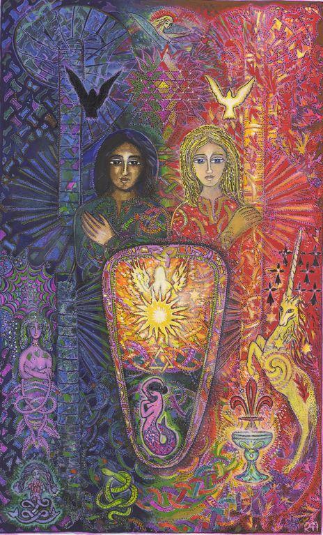 VI L'HOMME LIBERTE - Tarot de l'ange liberté by MYRRHA