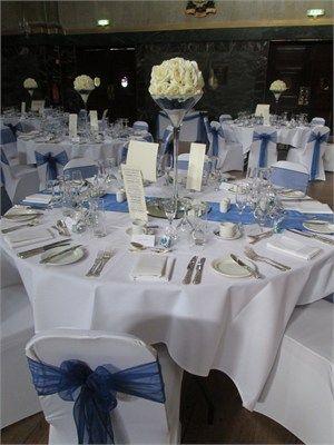 Blue Wedding Cutlers Hall