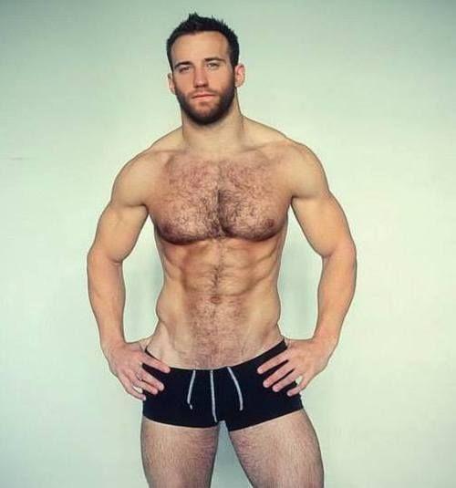 Muscle Hairy Men 101