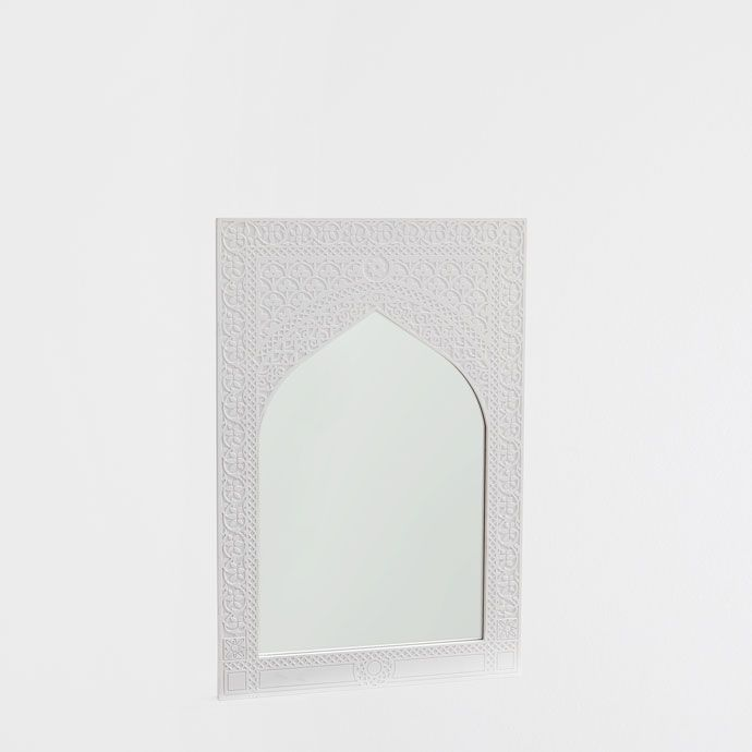 worked white mirror mirrors decoration zara home