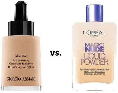 Splurge vs. Save: 3 Amazing Drugstore High-End Makeup Dupes