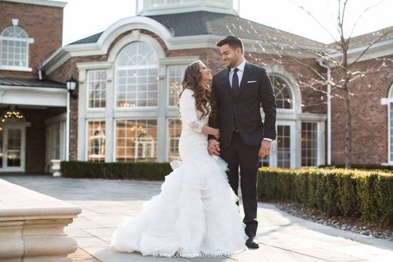 Stunning Modest Wedding Dress with Long Sleeves designed by Couture de Bride by Tova Marc in Teaneck NJ, LDS Wedding Dress Kallah Gown, Mormon Wedding Dress