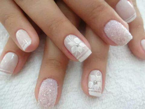 32 best images about unhas de noiva on pinterest glitter for Decor unhas