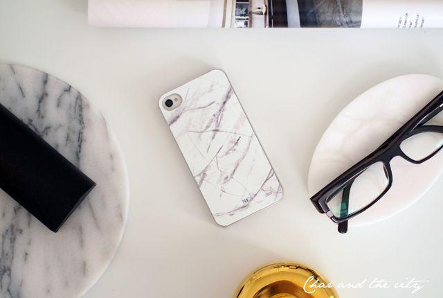 Marble iPhone case from Nunuco: http://divaaniblogit.fi/charandthecity/2014/09/29/nunuco-design-company-iphone-suojakuori/