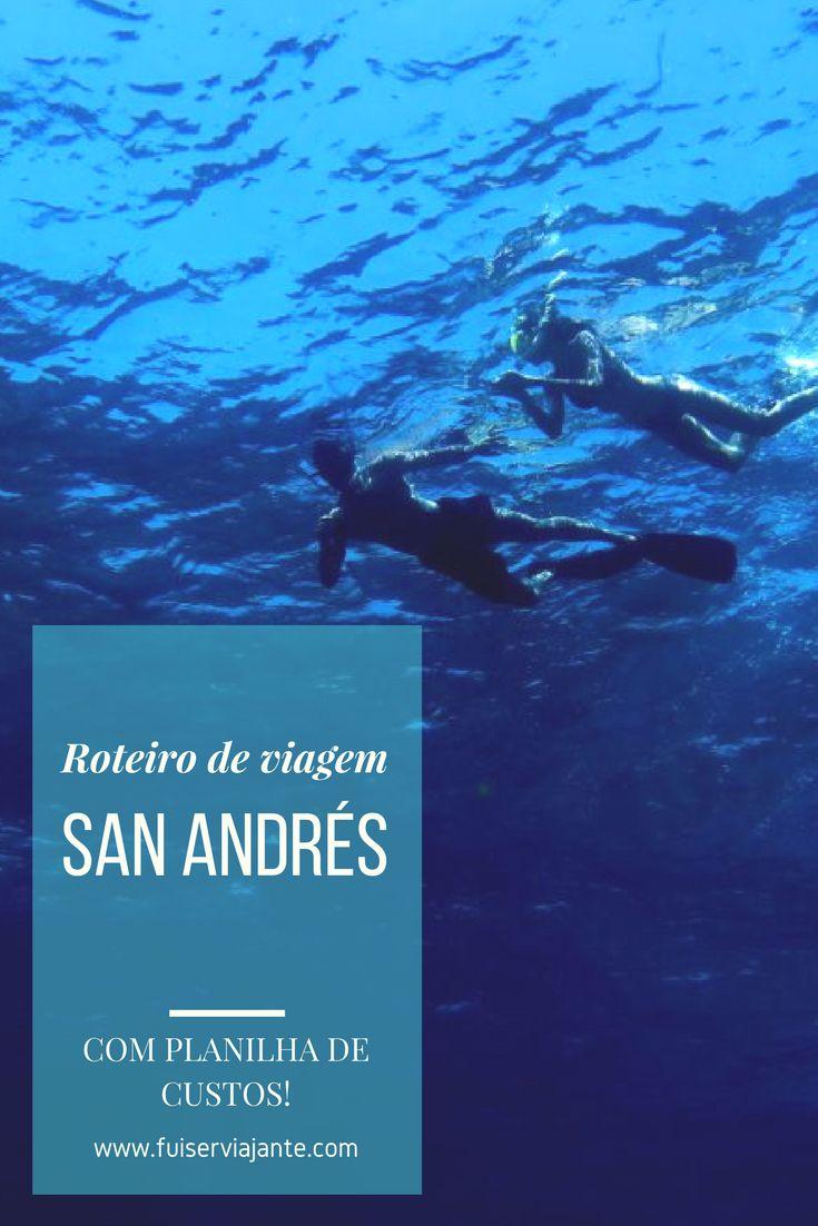 Um roteiro de viagem completo para curtir até 7 dias na Ilha de San Andrés, no caribe colombiano. Incluído planilha de custos com todos os gastos da viagem!