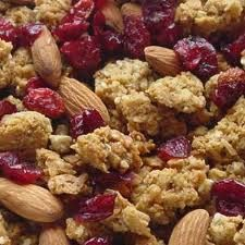 Homemade granola cereal, eat with almond milk, yogurt and berries, or just by itself.