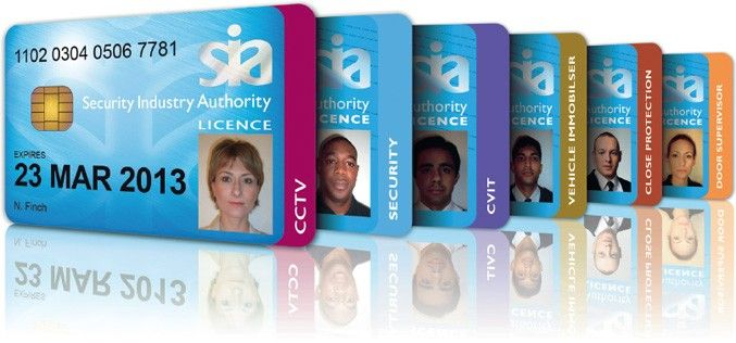 Sia Licence Cards