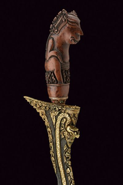 Kris Dagger  Dated: 20th century Culture: Javanese Measurements: overall length 46 cm