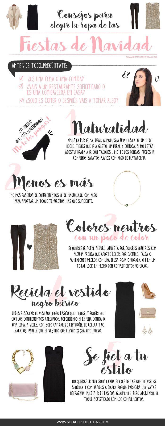 Consejos para elegir ropa en las fiestas de navidad