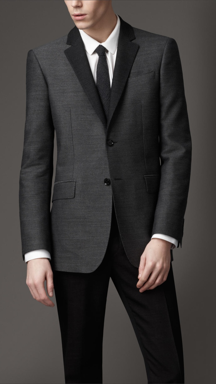 Burberry Modern Fit Wool and Cotton Jacket  http://www.roehampton-online.com/?ref=4231900