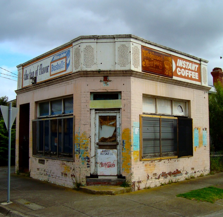 Old cornershop, Moonee Ponds, Melbourne