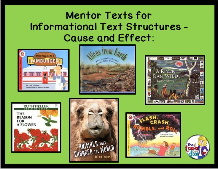Teaching Informational Text Structures - The Teacher Next Door - Creative Ideas From My Classroom To Yours: