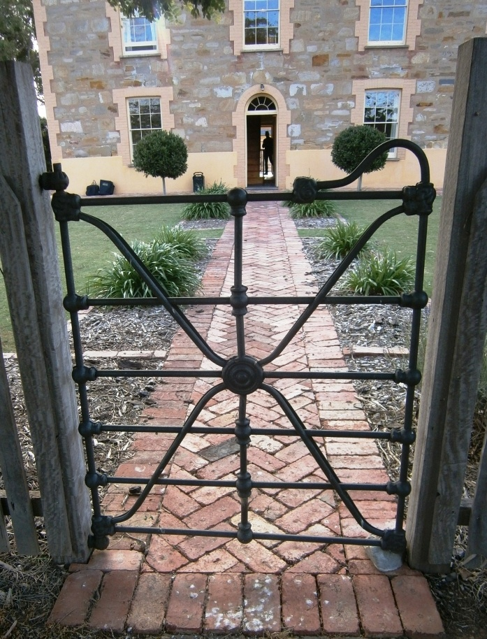Great photo shoot - love that wrought iron!