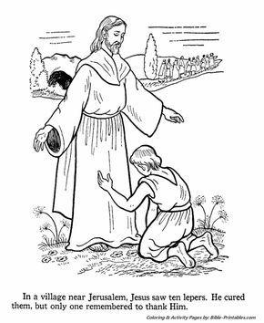 42 best JESUS HEALS THE TEN LEPERS !!! images on Pinterest