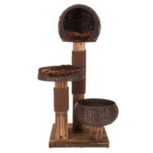 Scorched Wood Cat Tree | Free P&P on orders £29+ at zooplus!