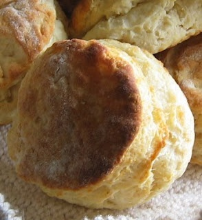 Buttermilk Biscuits in a Cast Iron Fry Pan. NOT just for camping !!!! These are really good !