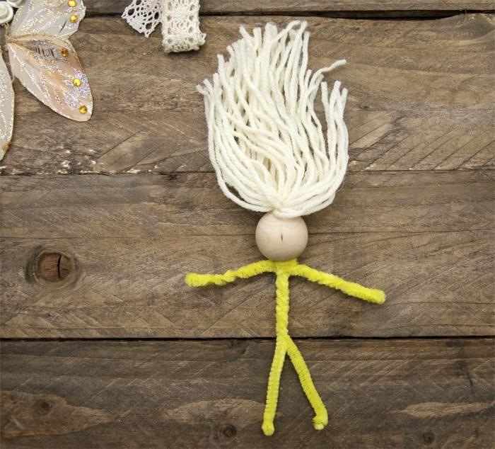 Кукла из подручных материалов