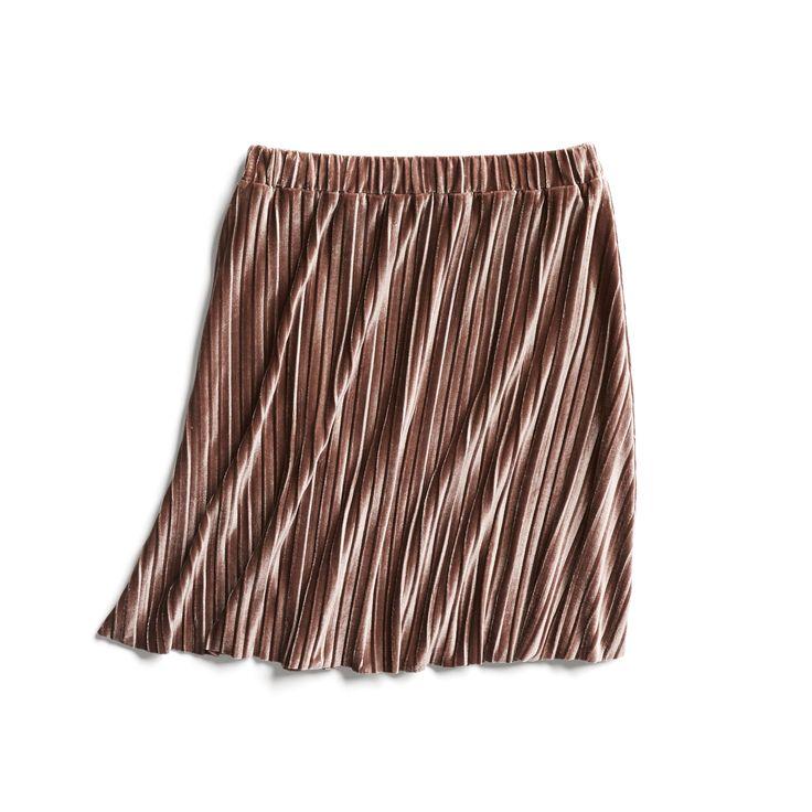 Stitch Fix Fall Stylist Picks: Metallic Pleated Skirt