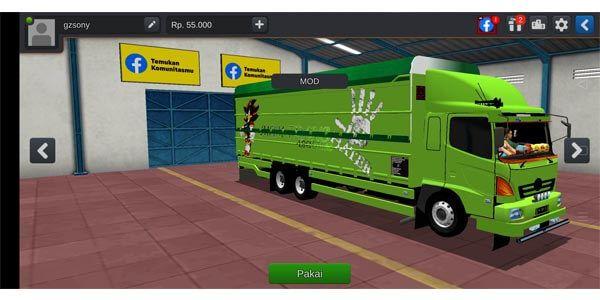 Truck Hino Lohan Mod Bussid Truk Besar Mobil Futuristik Konsep Mobil