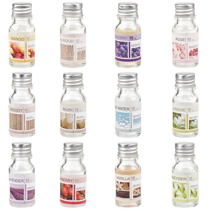 Ceramic Oil Burner & 12 Scents Tea Light Fragrance Tart Aromatherapy Scents Home | eBay