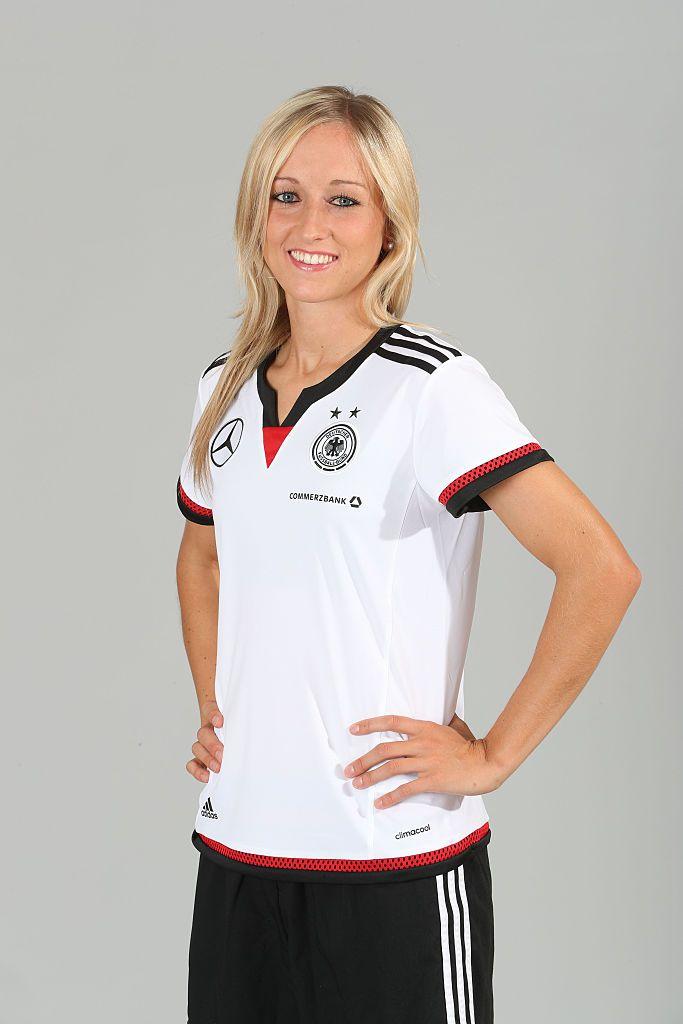 GRASSAU, GERMANY - JUNE 21: Kathrin Hendrich of the German women's national…