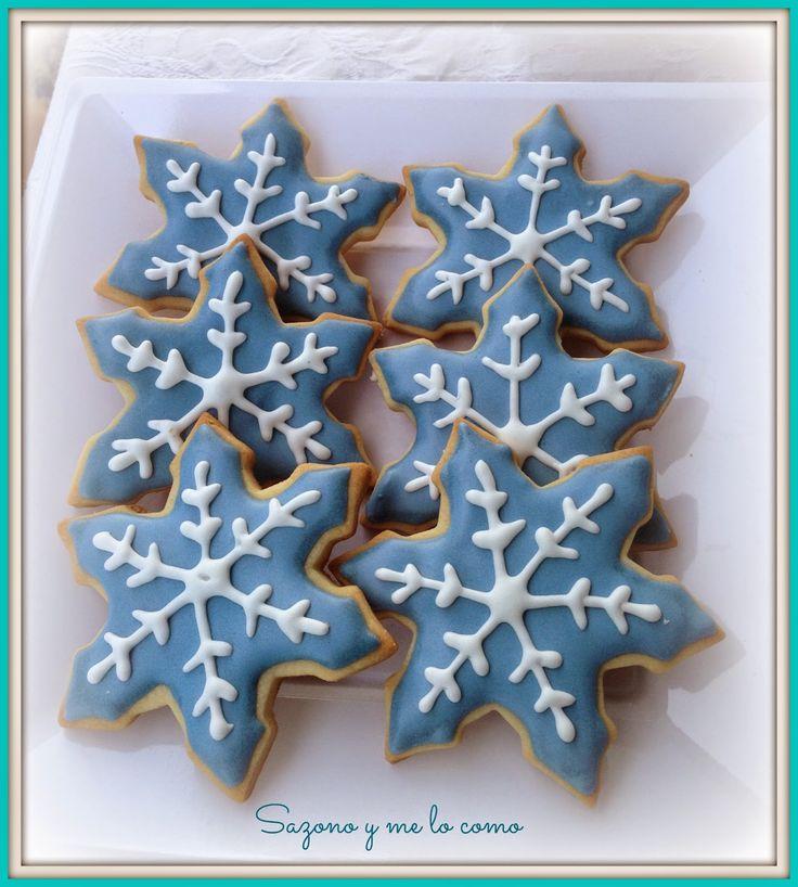 Mesa Dulce Frozen- Galletas Navidad decoradas