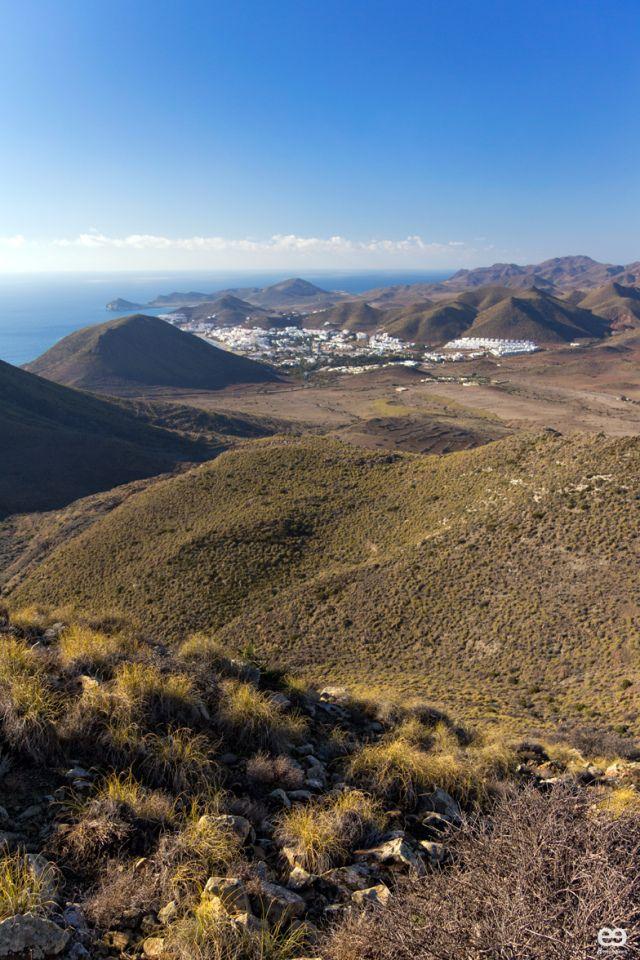 San José y la Punta de Los Genoveses - Cabo de Gata Natutal Reserve - Prov. Almería - Andalucía, Spain.