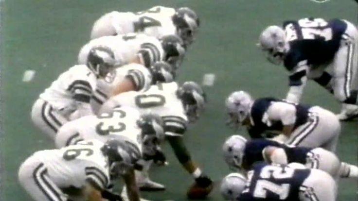 Cowboys won 27-20 1983 Cowboys @ Eagles  GOTW week 10  [11-6-83]
