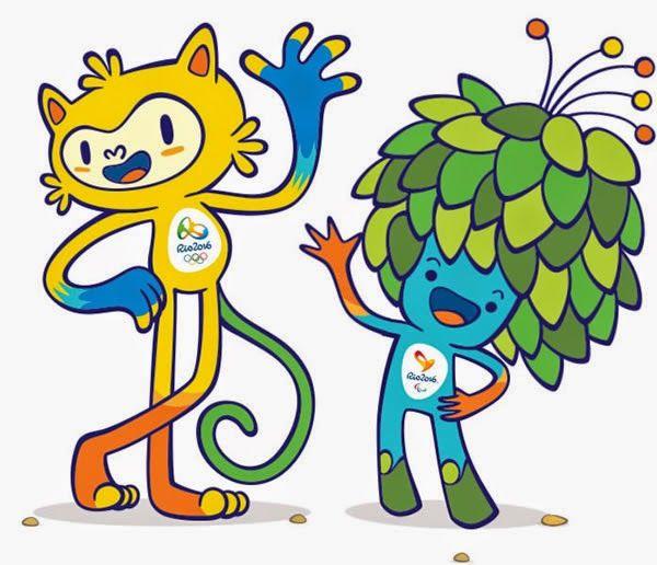 Mascotes da Olimpíada e Paralimpíada 2016