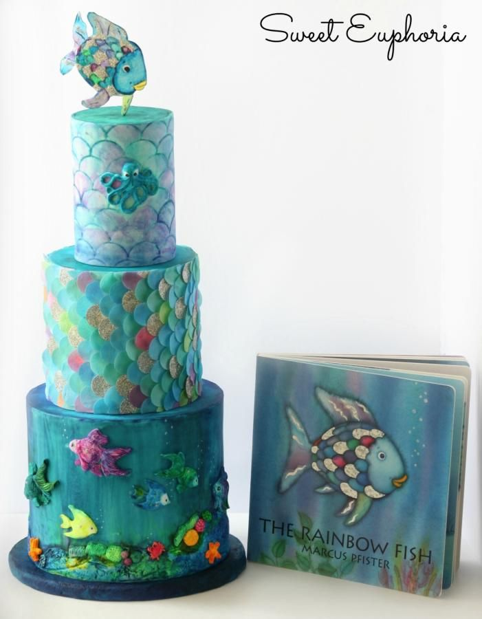 Cake Decorating Bagshot : 17 Best images about Fish Cakes on Pinterest Exotic fish ...