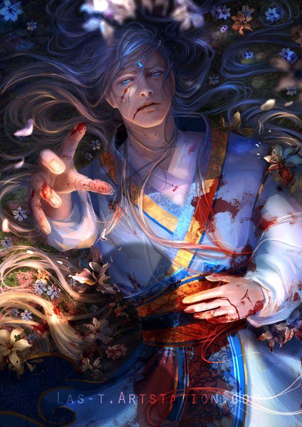 Fall of Eden, Thander Lin on ArtStation at https://www.artstation.com/artwork/QKQDx
