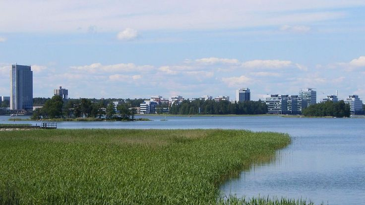 The south-eastern part of Espoo, Finland