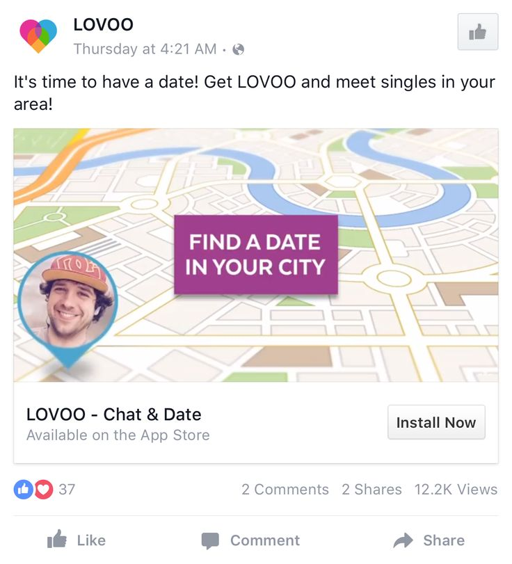 Dating adverts examples