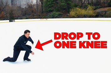 How To Fall Without Hurting Yourself When Ice Skating