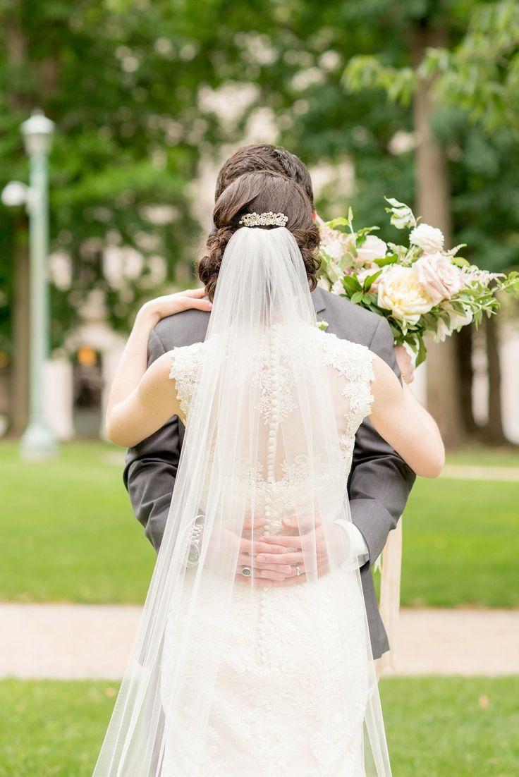 A Romantic Blush & Gold Spring North Carolina Wedding