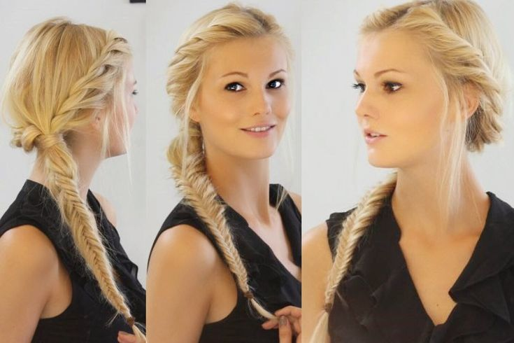 Herringbone braid and twirling technique – HAIR TURNING TUTORIAL