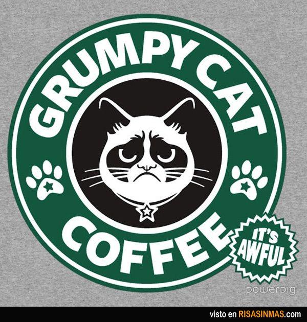 Grumpy Cat Coffee.